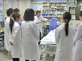 宮崎県基幹型臨床研修病院 見学の様子