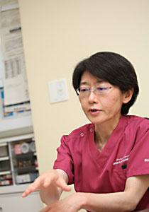 産婦人科医師に進むきっかけを語る児玉医師