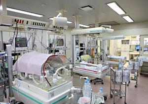 周産期母子医療センター内の施設