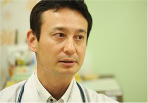 医師というよりも小児科医になりたかったと語る澤田氏