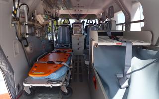 ドクターヘリの主な医療機器