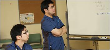 研修医との症例検討会2